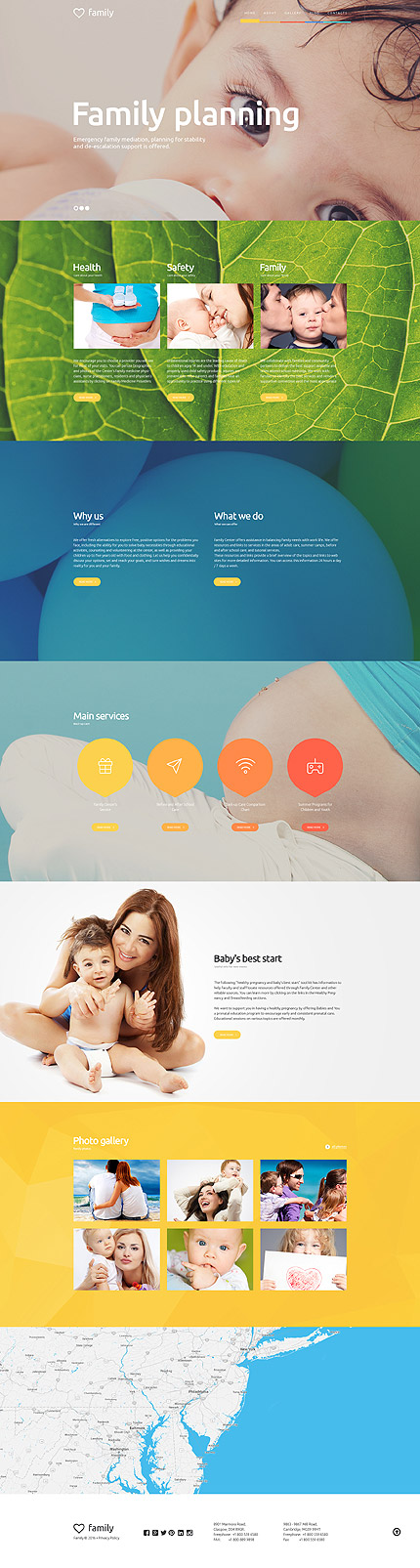 Family Care Center WordPress Theme
